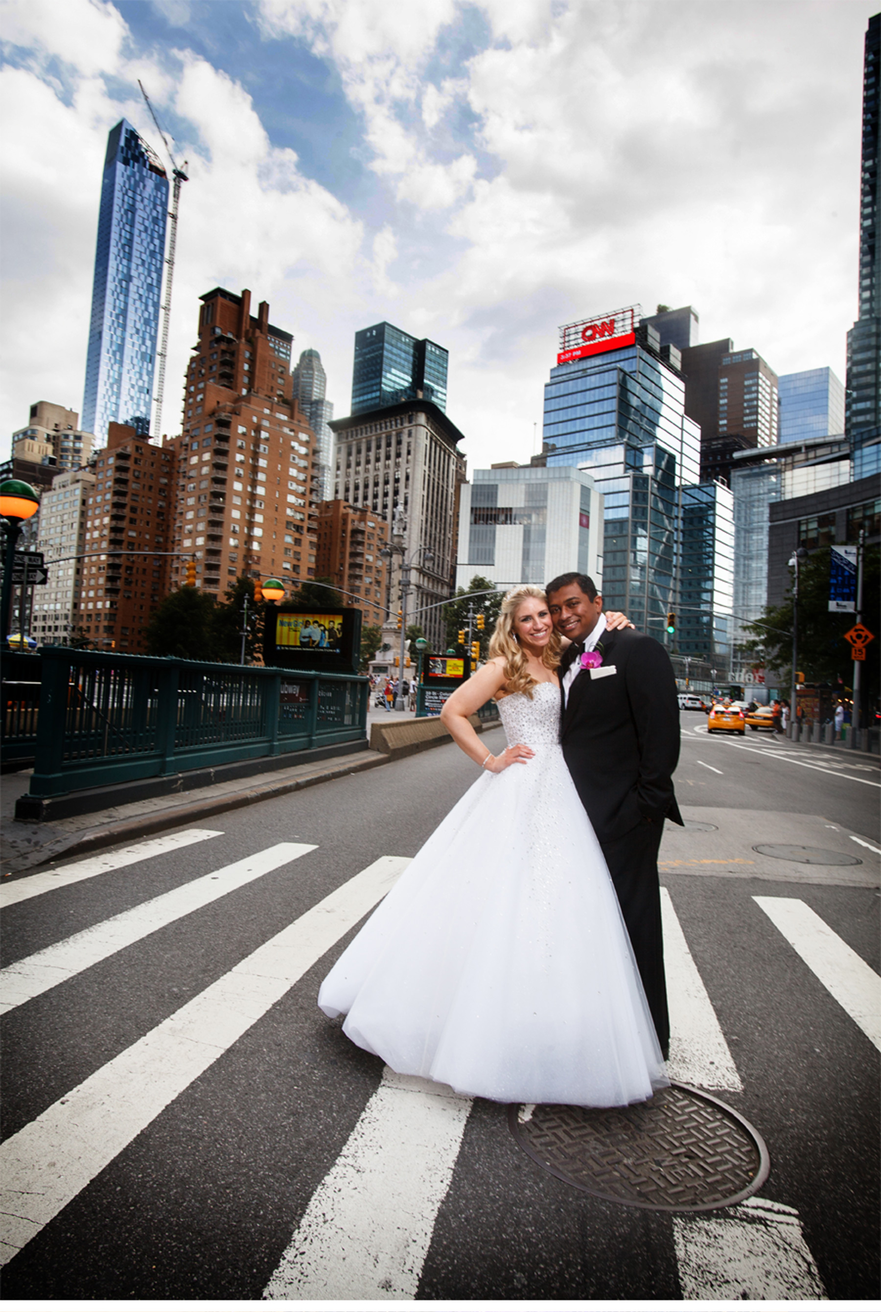 Our Muse Modern Manhattan Wedding Be Inspired By Dory Alex S Sleek
