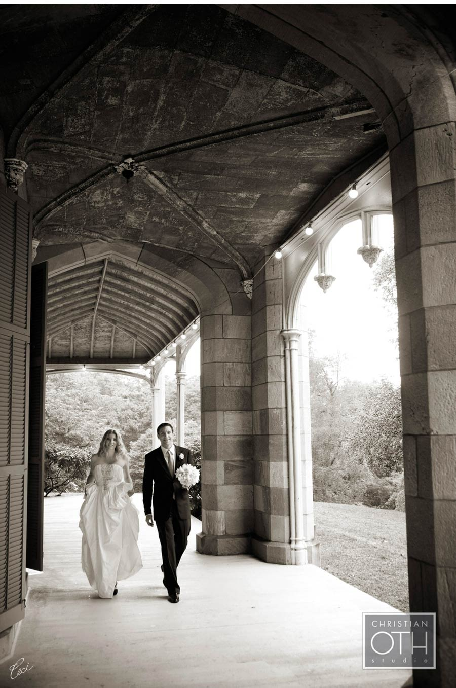 Our Muse - Wedding Photos - Be inspired by Joscelyn & Aaron's castle wedding at Lyndhurst Castle, Tarrytown, New York