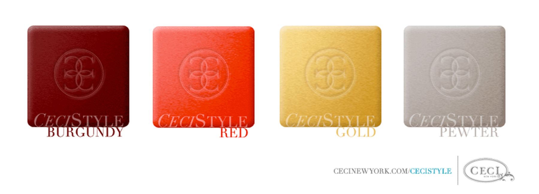 Ceci's Color Stories - Burgundy & Red Wedding Colors - color swatches, burgundy, red, gold, pewter, wedding, swatches