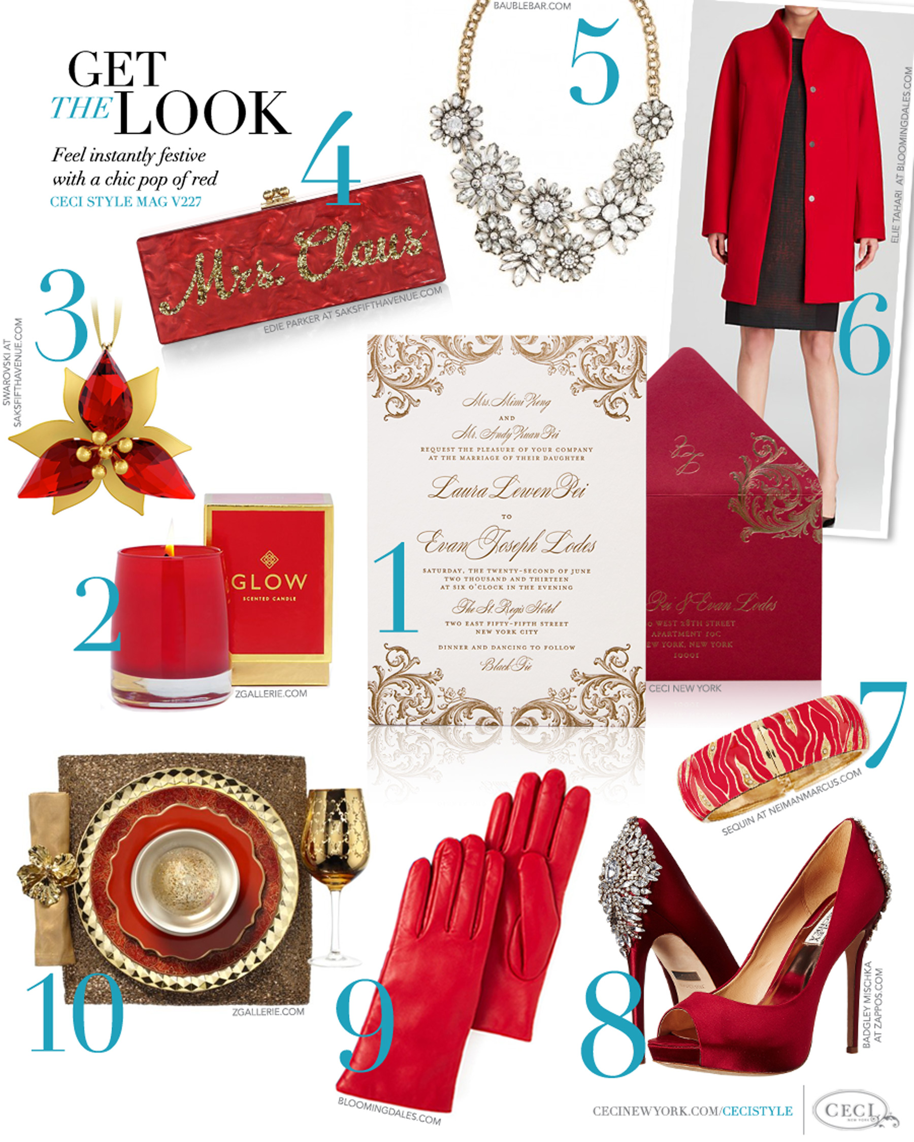 V227: Get the Look - The Red Issue — Ceci Style