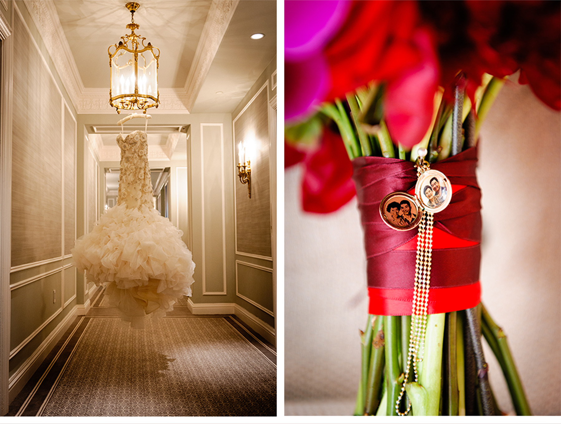 V227: Our Muse - Ornate Red and Gold Wedding at the St. Regis: Laura ...