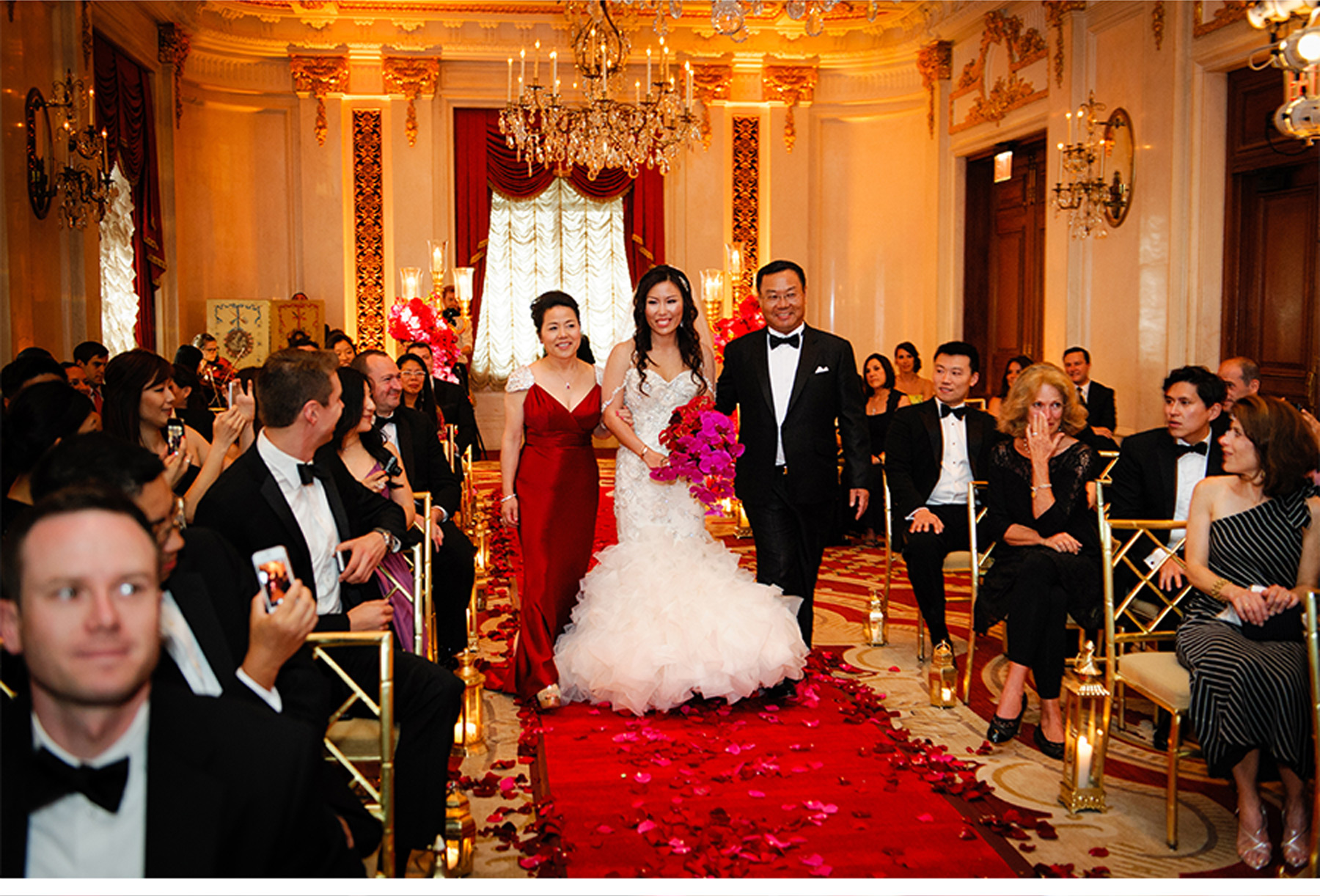 V227: Our Muse - Ornate Red and Gold Wedding at the St. Regis ...