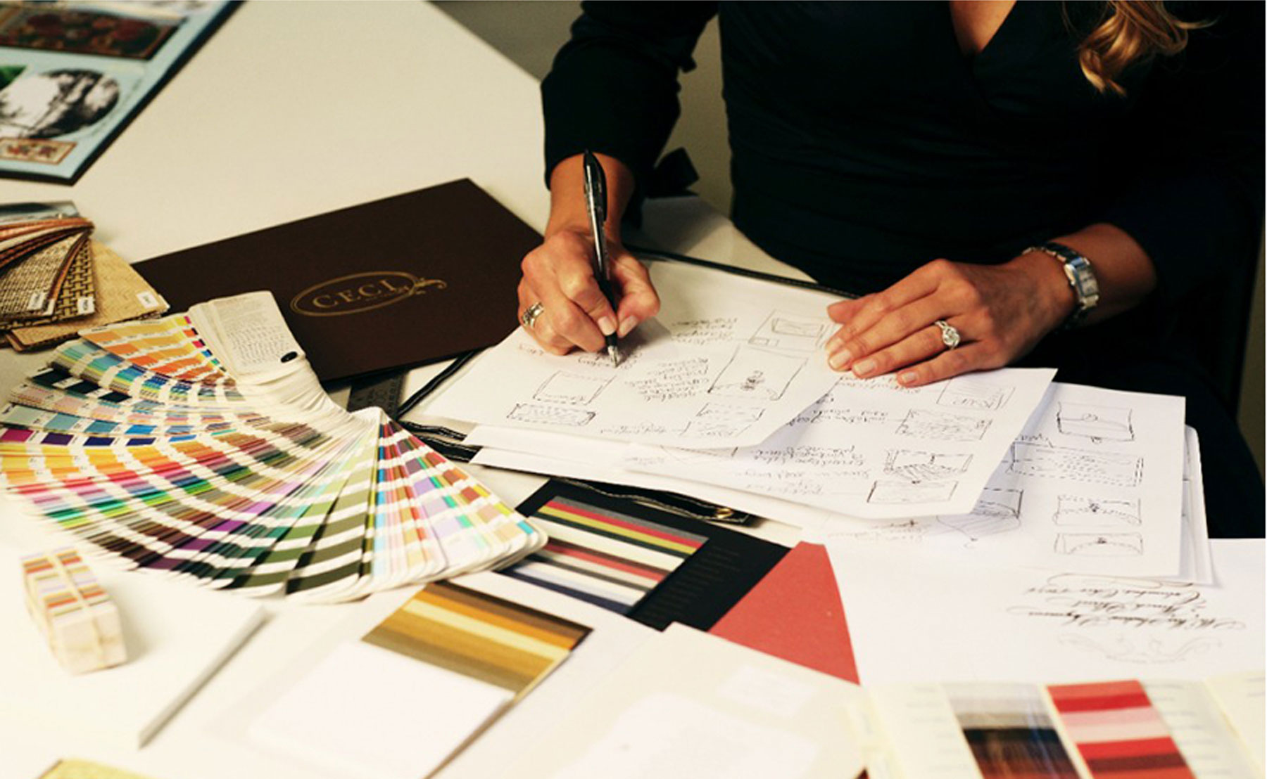 Ceci New York design process