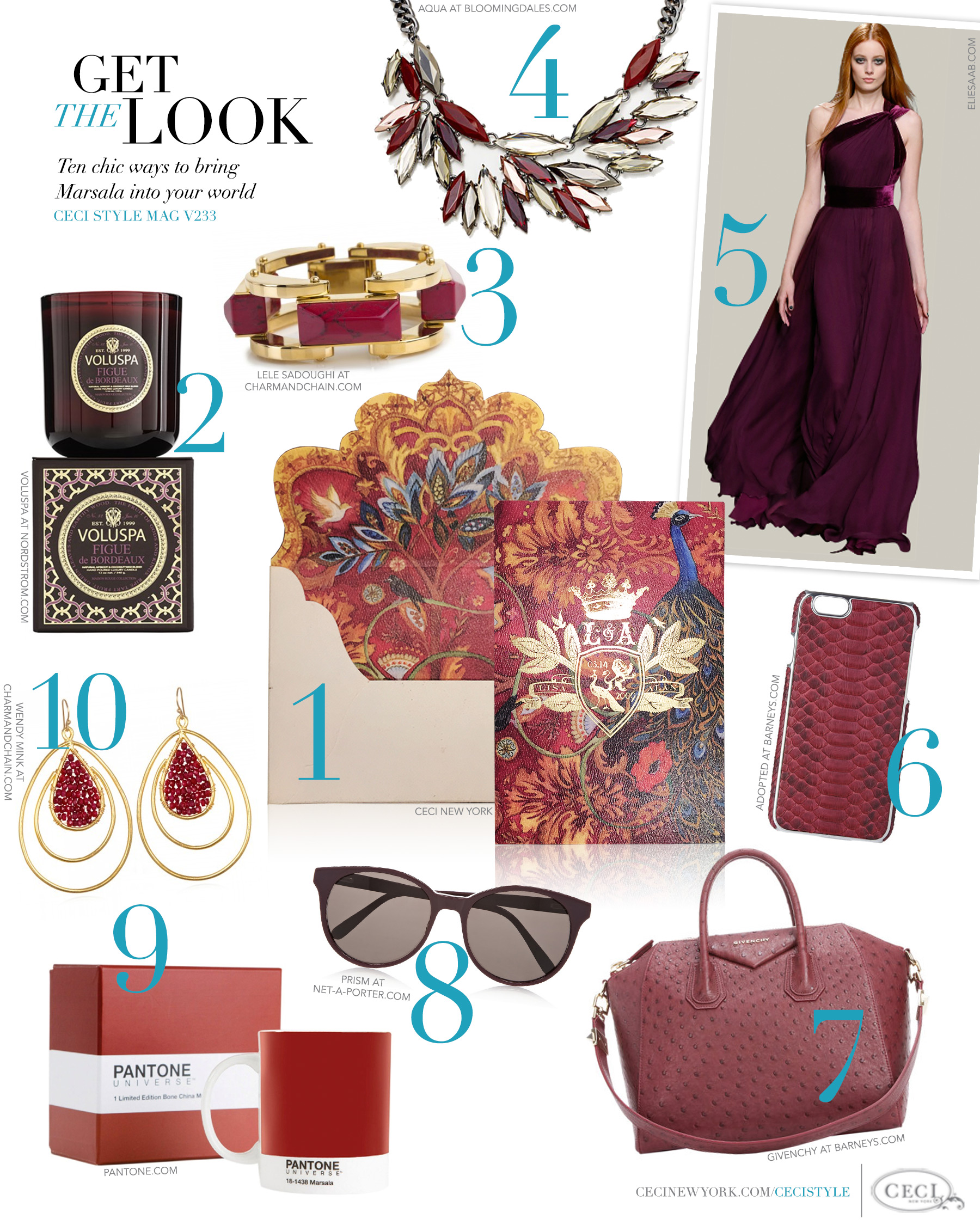 V233: Get the Look - Majorly Marsala — Ceci Style