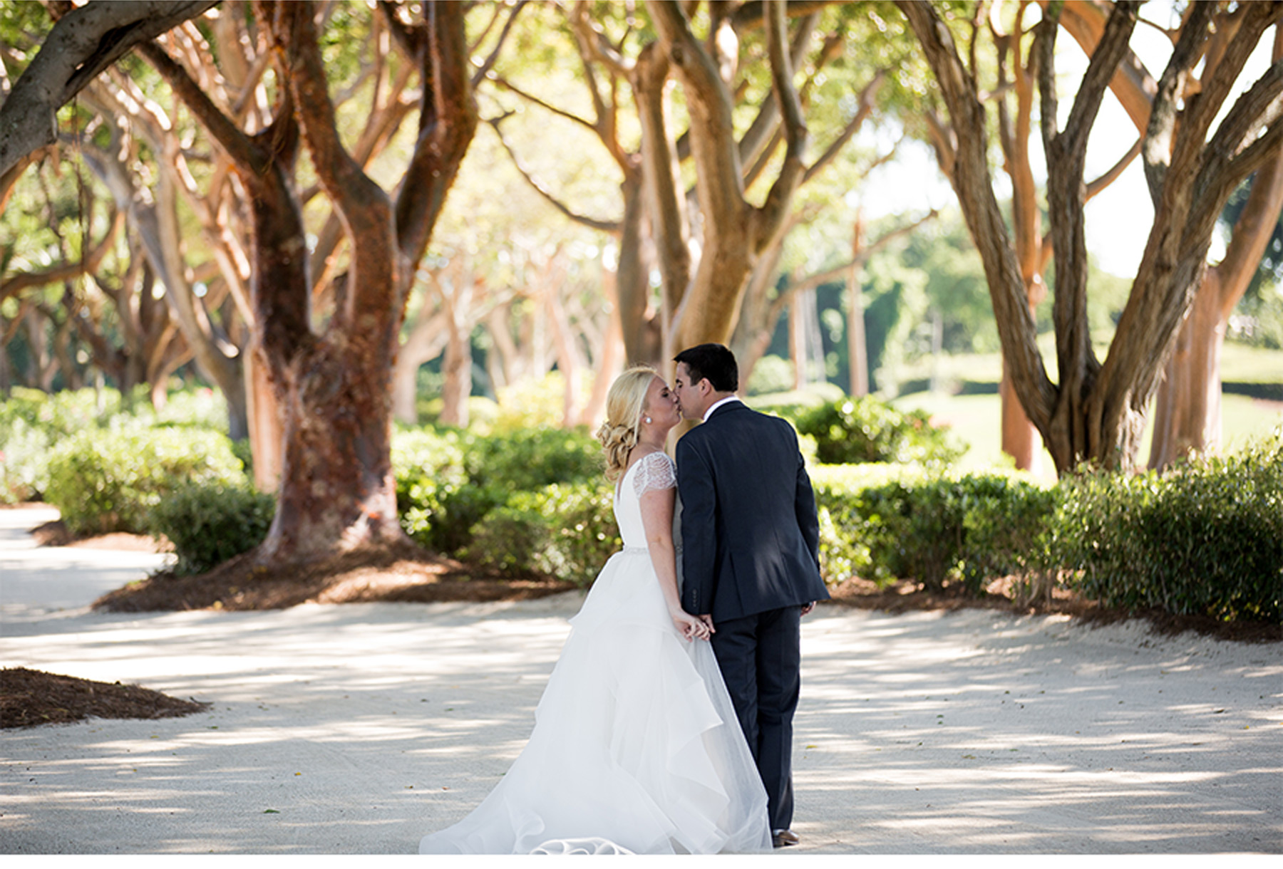 Sleek florida wedding