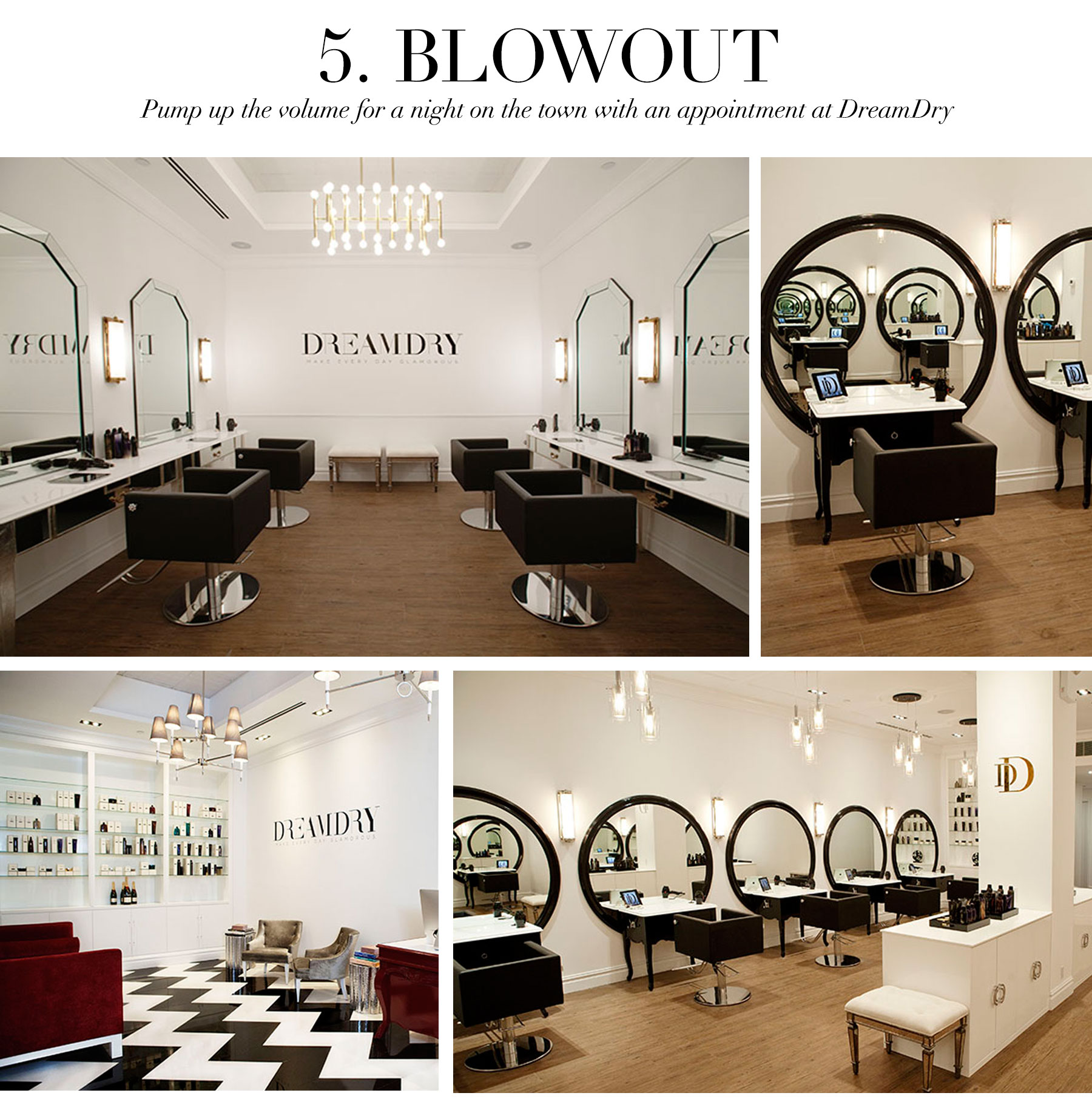 Ceci Johnson's Treat-Yourself Picks - Blowout - Pump up the volume for a night on the town with an appointment at Dream Dry