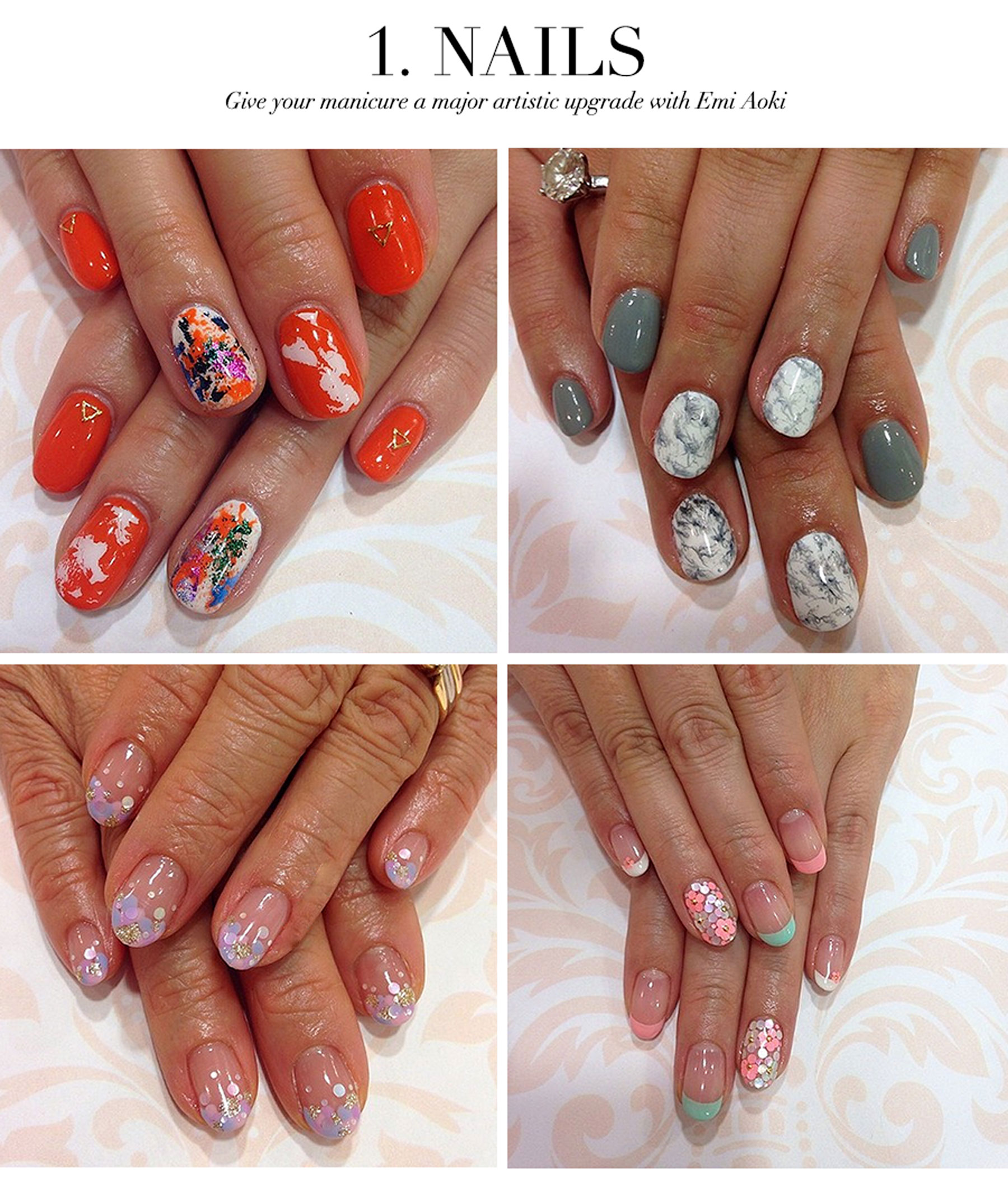 Ceci Johnson's Treat-Yourself Picks - Nails - Give your manicure a major artistic upgrade with Emi Aoki