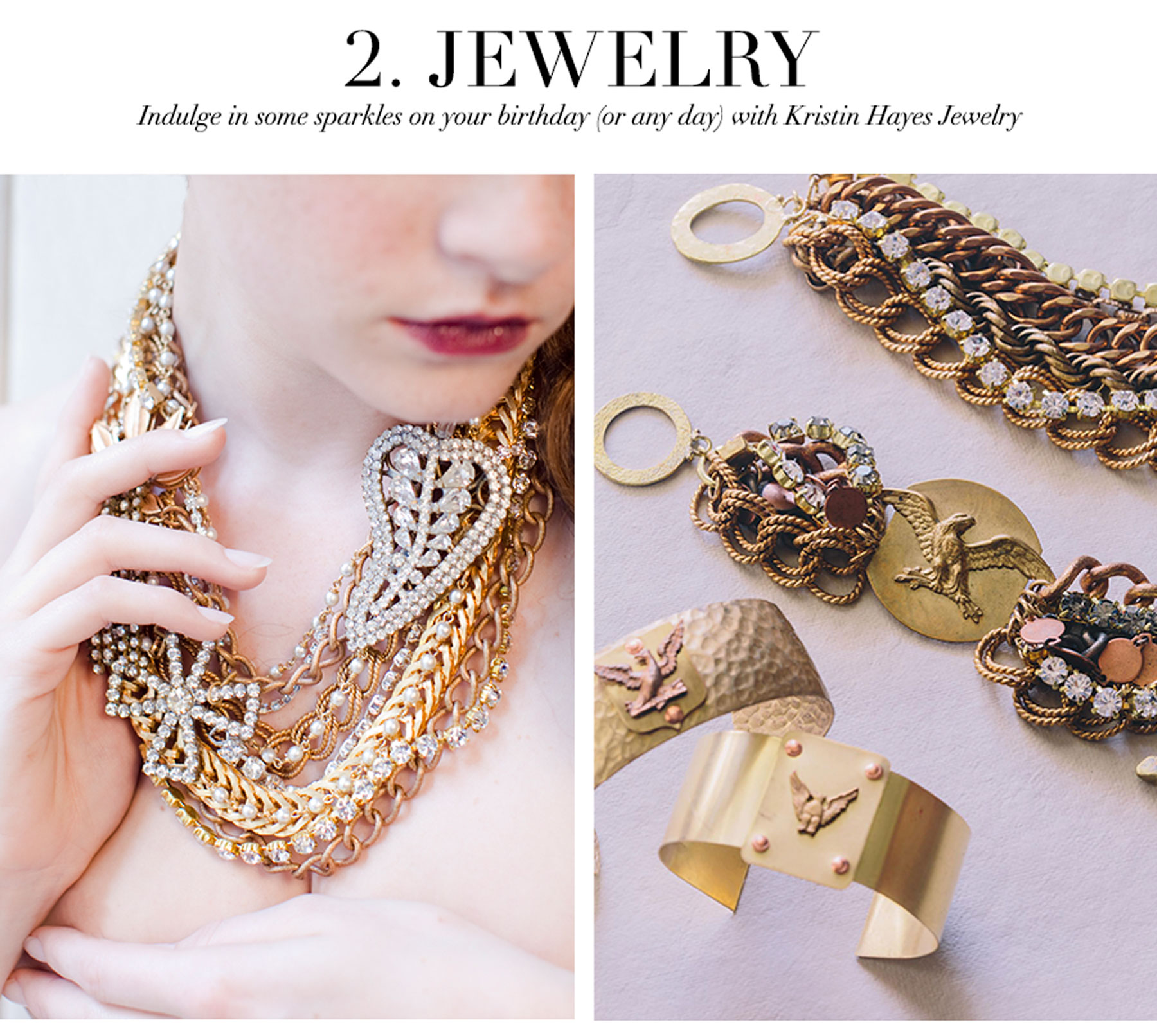 Ceci Johnson's Treat-Yourself Picks - Jewelry - Indulge in some sparkles on your birthday (or any day) with Kristin Hayes Jewelry