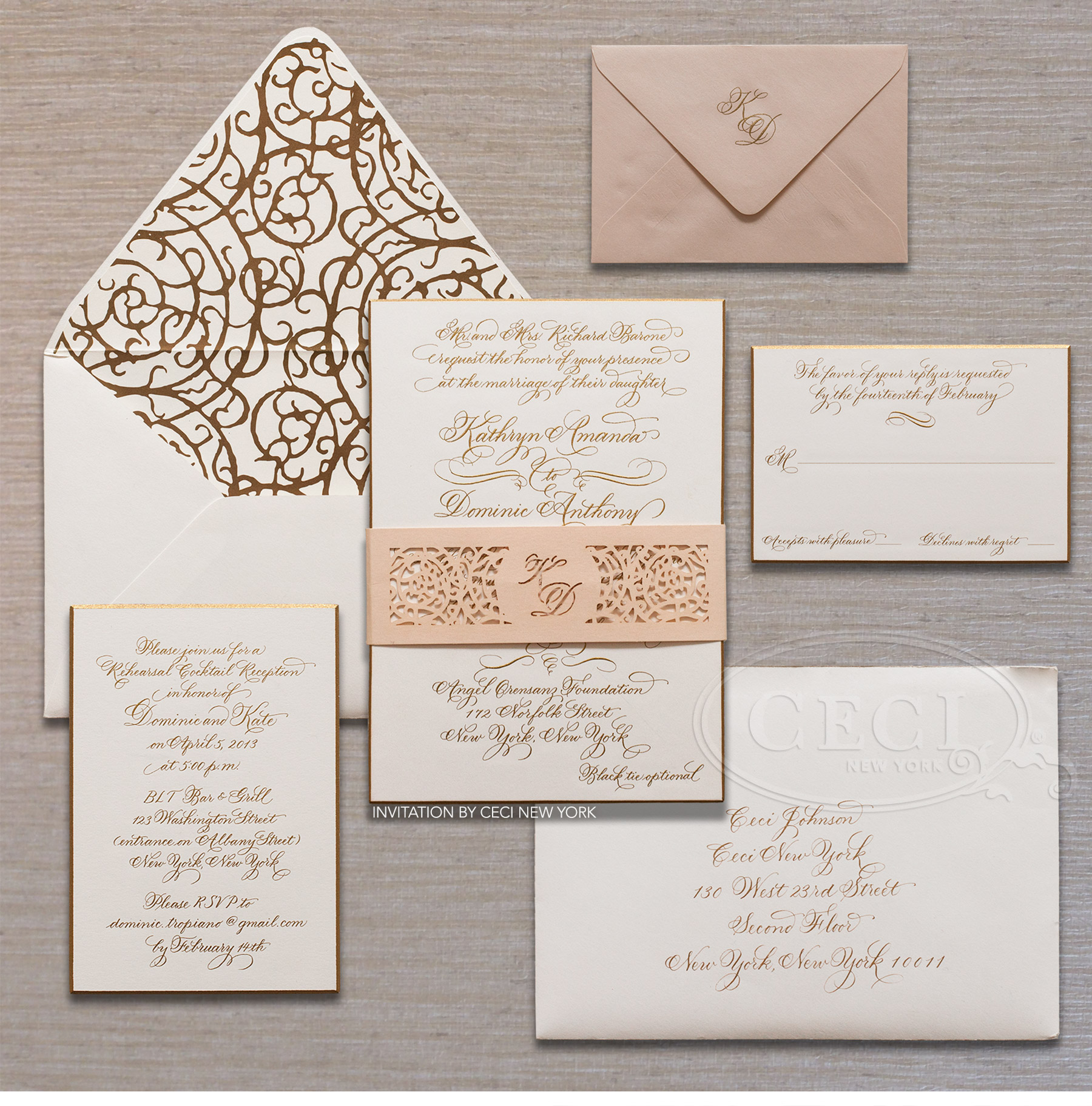Cruise Wedding Invitation as good invitations design