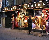 Gothic clothing store. Women clothing stores