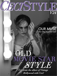 CeciStyle Magazine V24: Old Movie Star Style