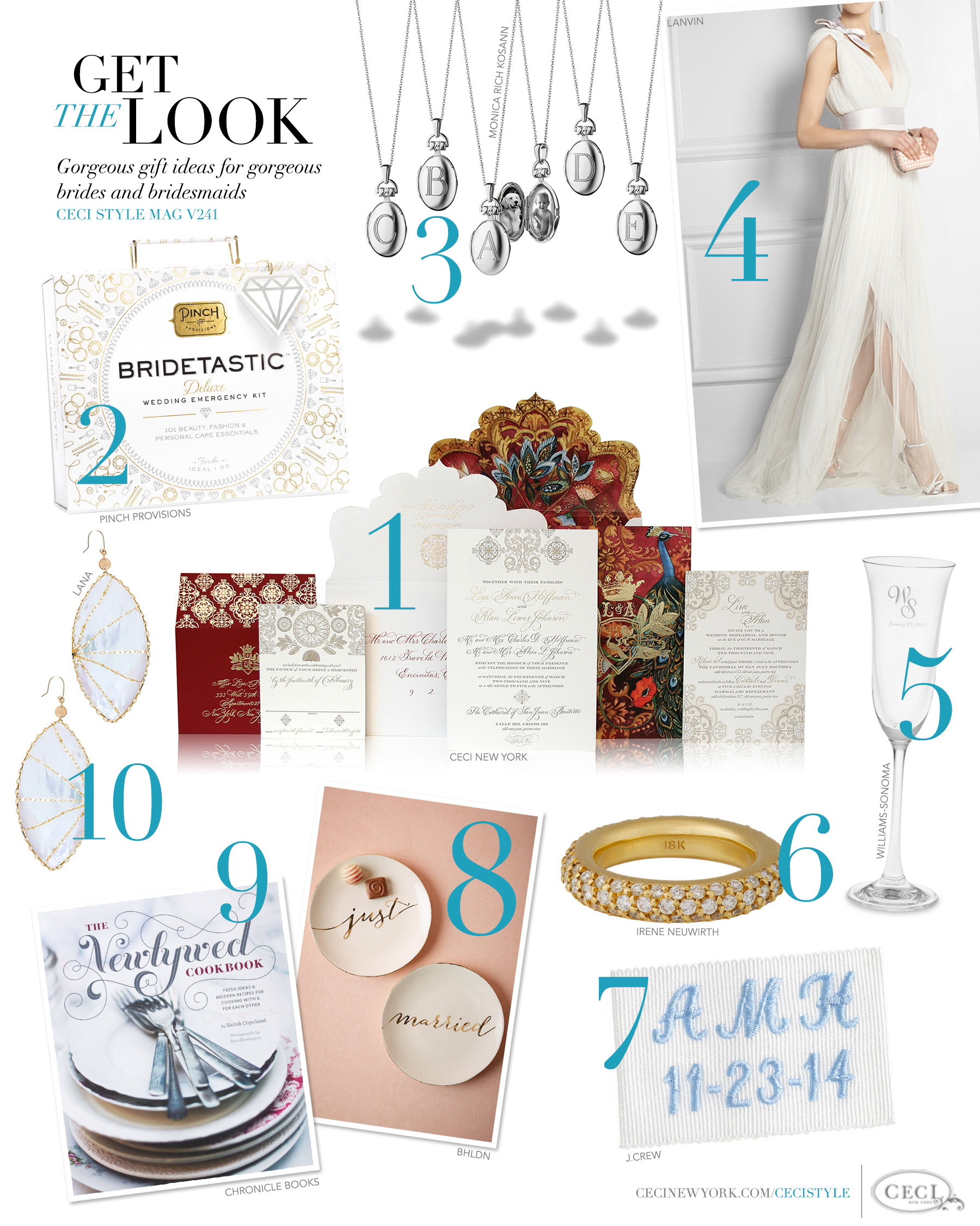 New York - ceci new york, wedding invitation, wedding gift ideas, gift ...