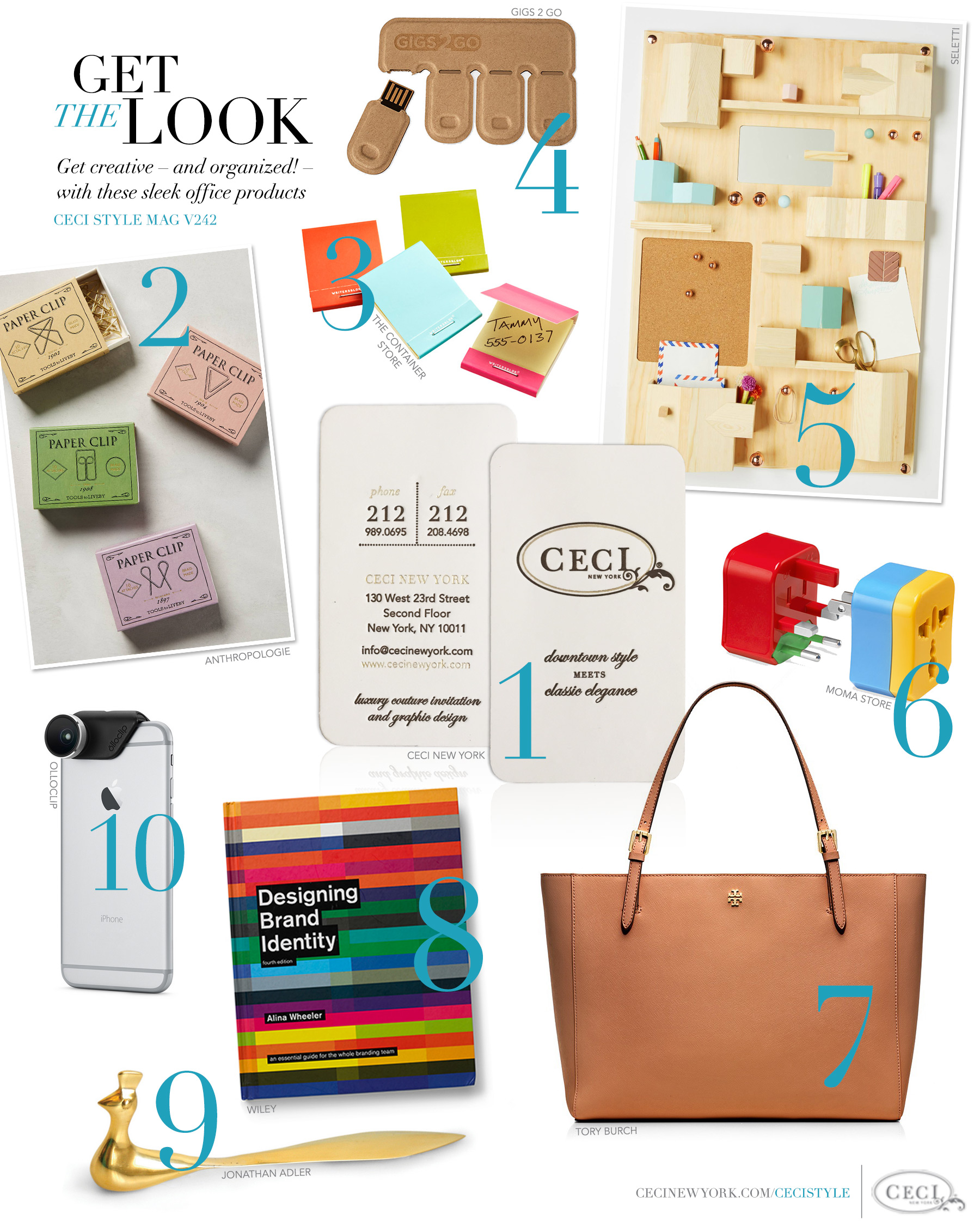 CeciStyle Magazine V242: Get The Look   Building Your Brand   Get Creative  U2013 And