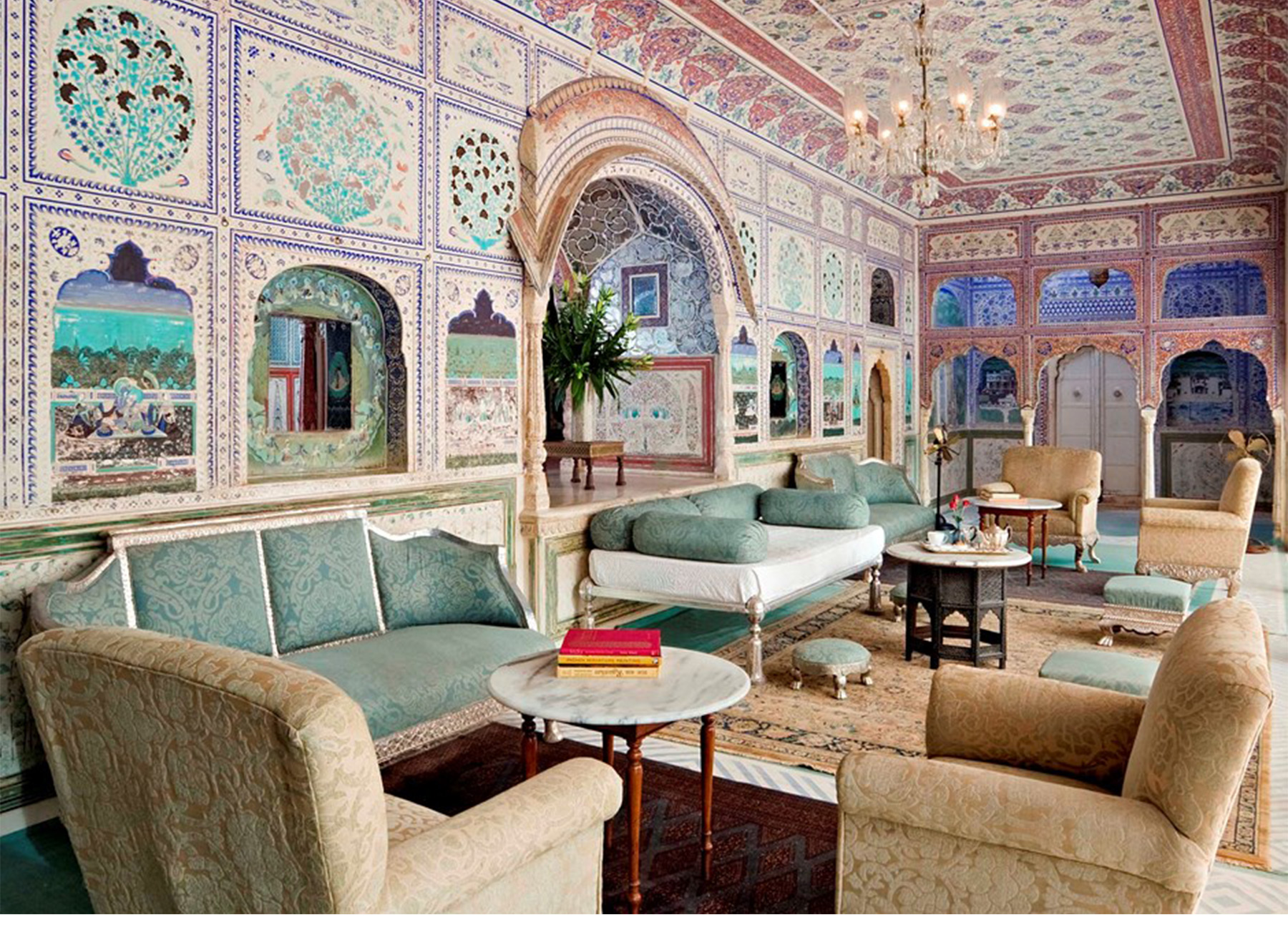 V246 great escapes samode palace jaipur rajasthan for Decor india jaipur