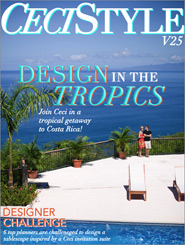 CeciStyle Magazine V25: Design in the Tropics