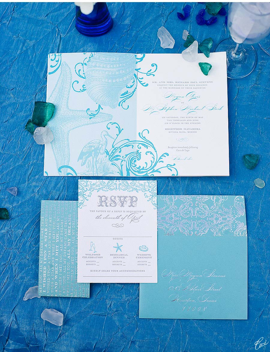 Luxury Wedding Invitations by Ceci New York - Our Muse - Ceci-Inspired Destination Style Tablescape - Wedding Invitations - feteperfection, foil stamping, invitations, letterpress printing, offset printing, wedding