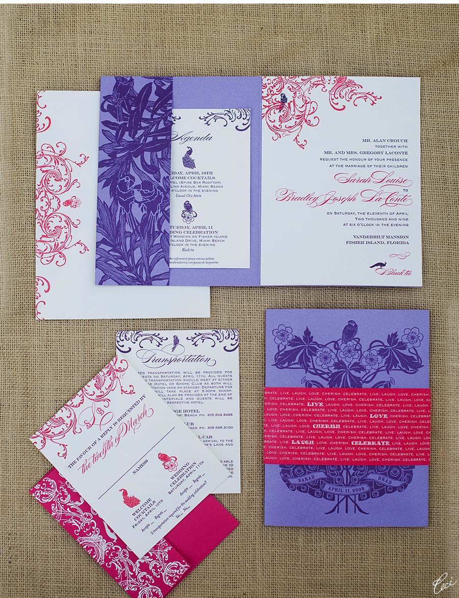Luxury Wedding Invitations by Ceci New York - Our Muse - Ceci-Inspired Ornate Style Tablescape - Wedding Invitations - annie lee, daughter of design, invitations, letterpress printing, wedding