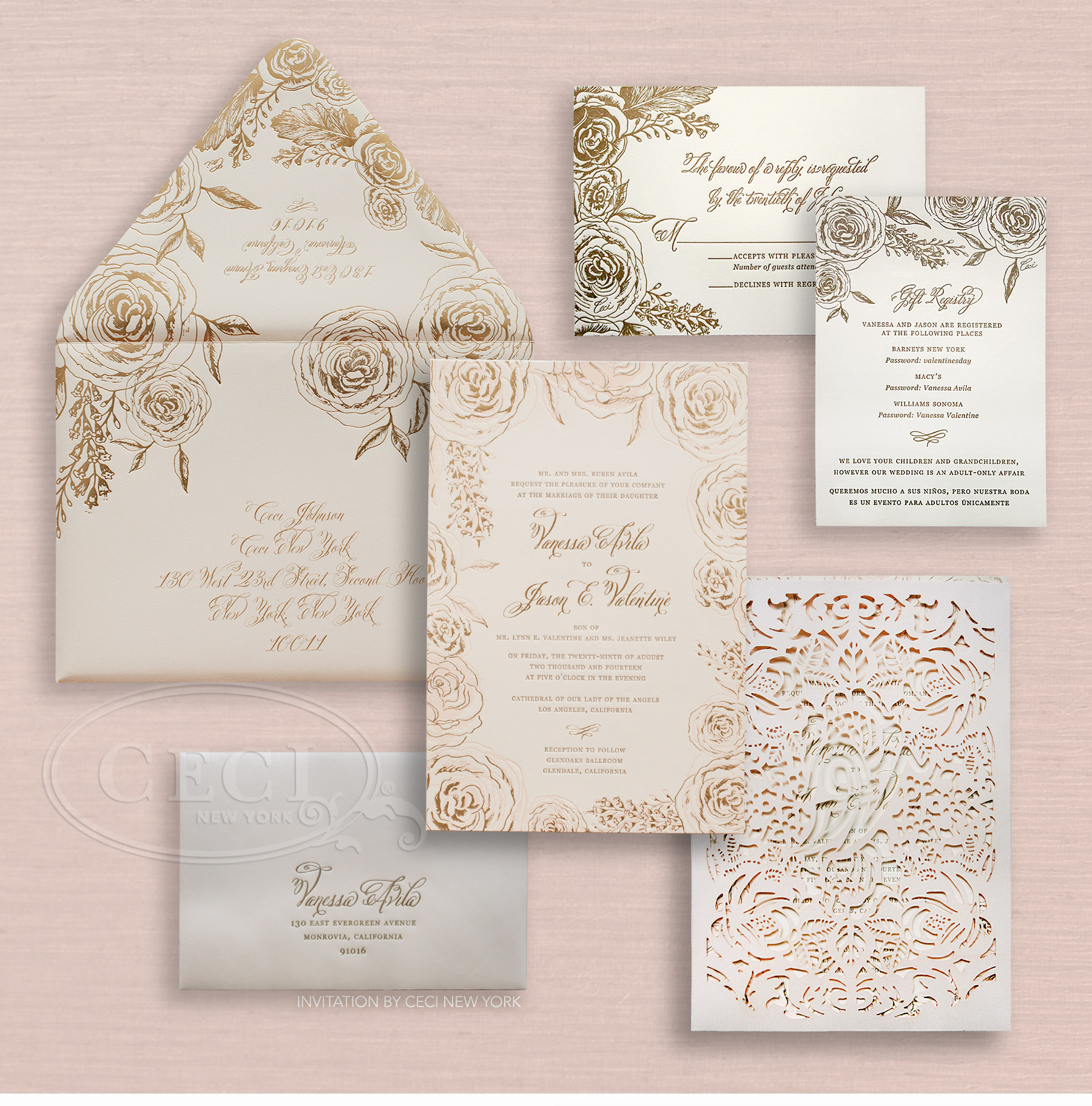 Wedding Invitations Los Angeles absolutely amazing ideas for your invitation example