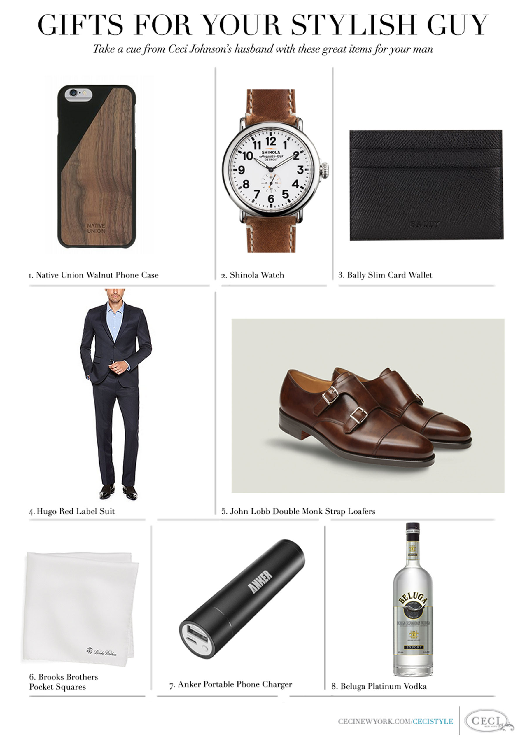 CeciStyle Magazine v255: Fabulous Finds Guest Editor - Stylish Father's Day Gifts Inspired by Ceci Johnson's Husband