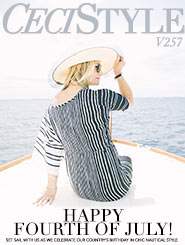 CeciStyle Magazine V257: Happy Fourth of July!