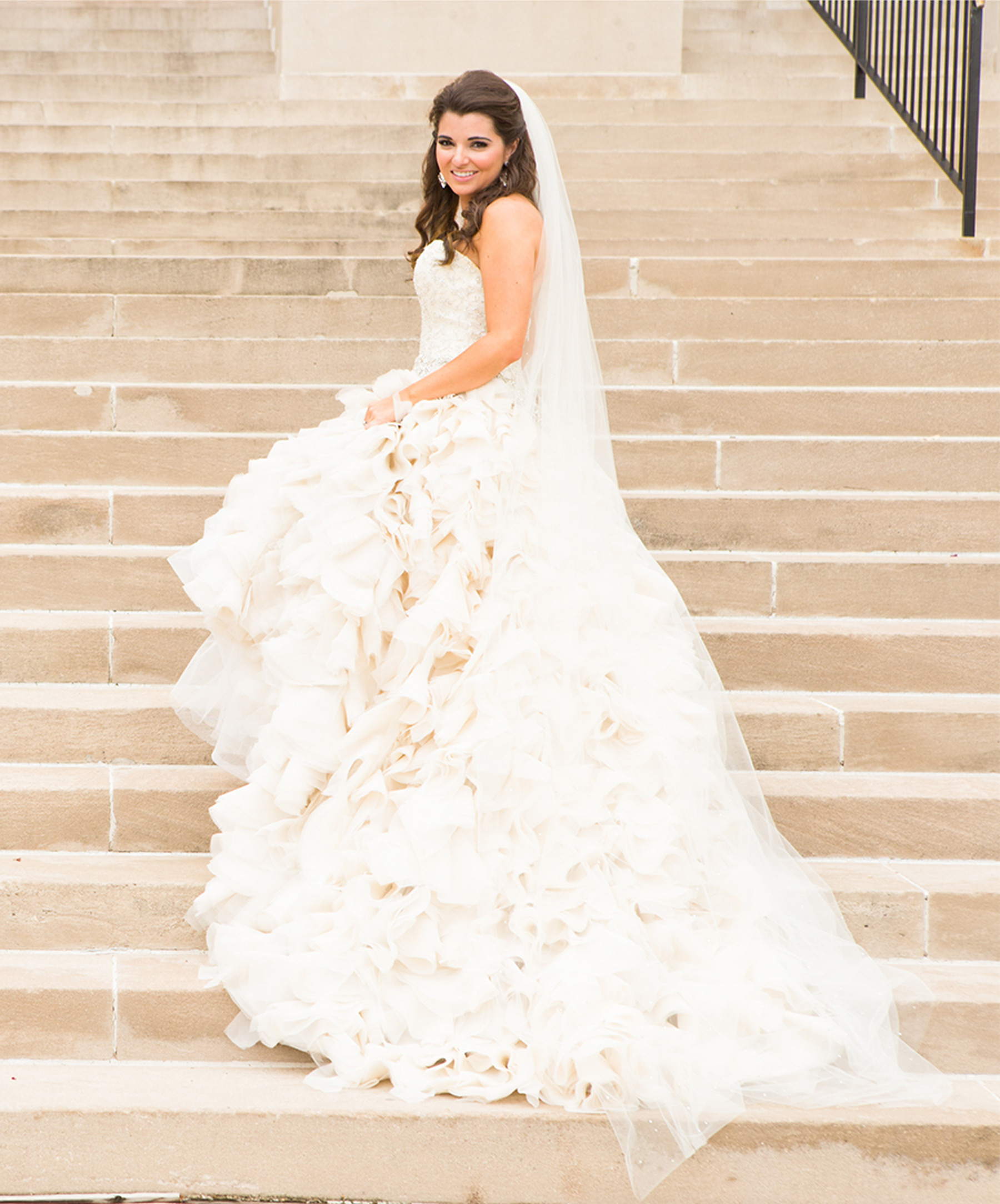 Our Muse - Glamorous Wedding In Texas: Cameron and Winston, Part 2 - Be inspired by Cameron and Winston's glamorous wedding in Texas - behind the scenes, wedding, portraits, ceci new york, ceci johnson, couture, luxury wedding invitations, custom wedding invitations, bridesmaids, bouquet, wedding dress, getting ready, wedding day, racquet club, midland, texas