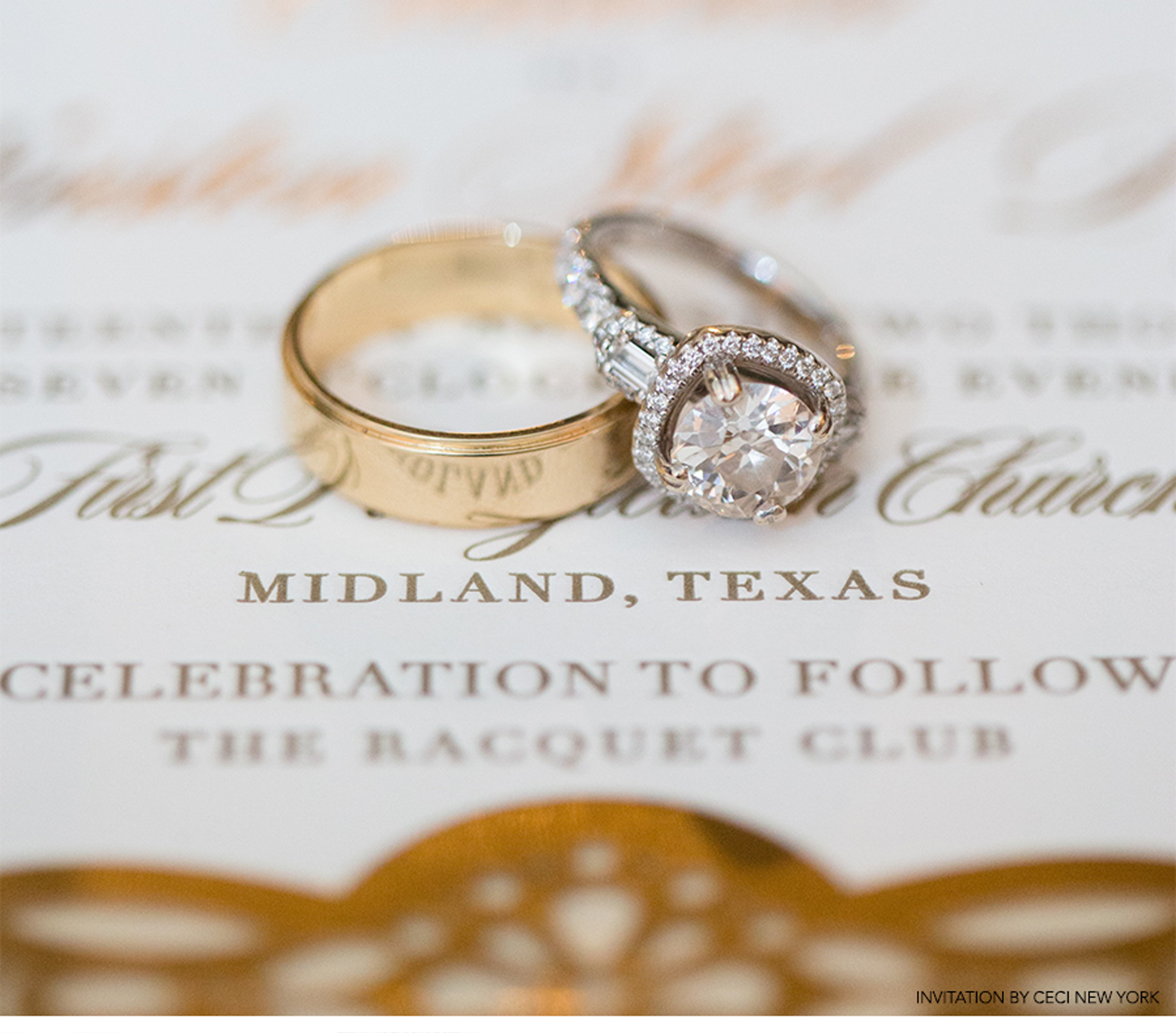 Our Muse - Glamorous Wedding in Texas: Cameron and Winston, Part 3 - Be inspired by Cameron and Winston's Glamorous Wedding in Texas. - invitations, wedding, ceci new york, inspiration, ceci johnson, celebration, bride, groom, event, luxury wedding invitations, couture, custom wedding invitations
