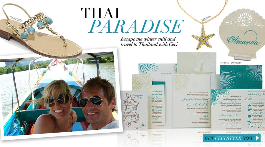 Thai Paradise - Escape the winter chill and travel to Thailand with Ceci