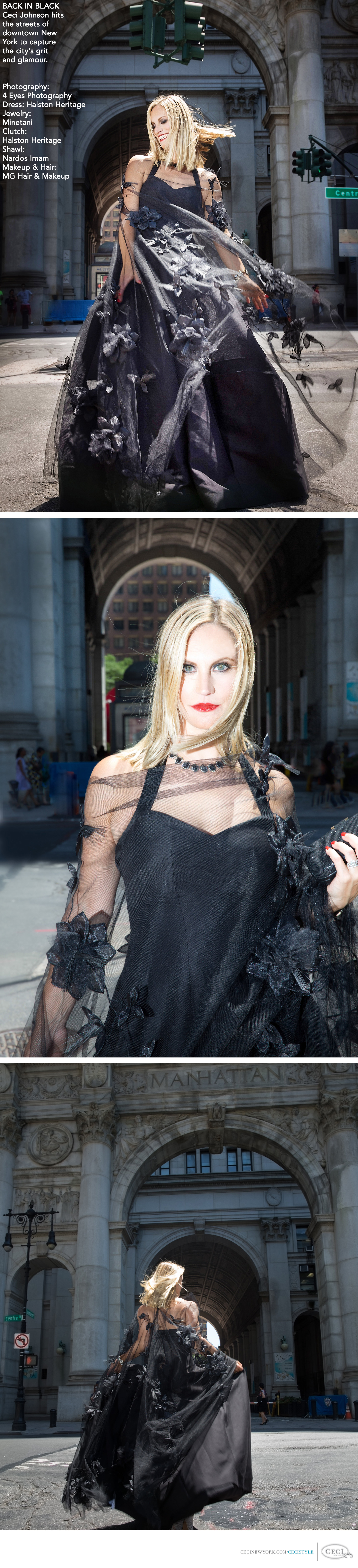 Ceci Johnson of Ceci New York - Get inspired by our dramatic take on New York sophistication.