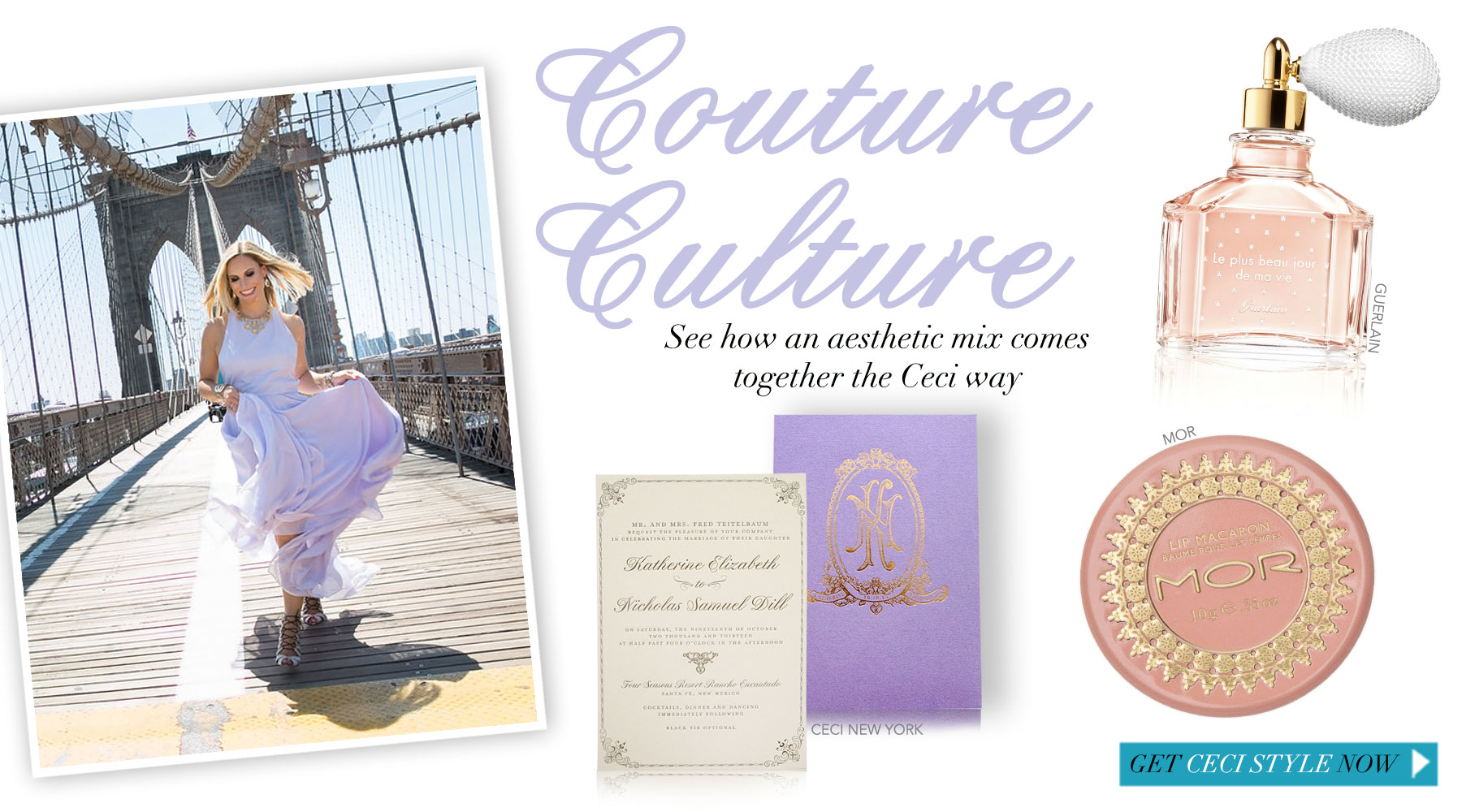 Couture Culture - See how an aesthetic mix comes together the Ceci way