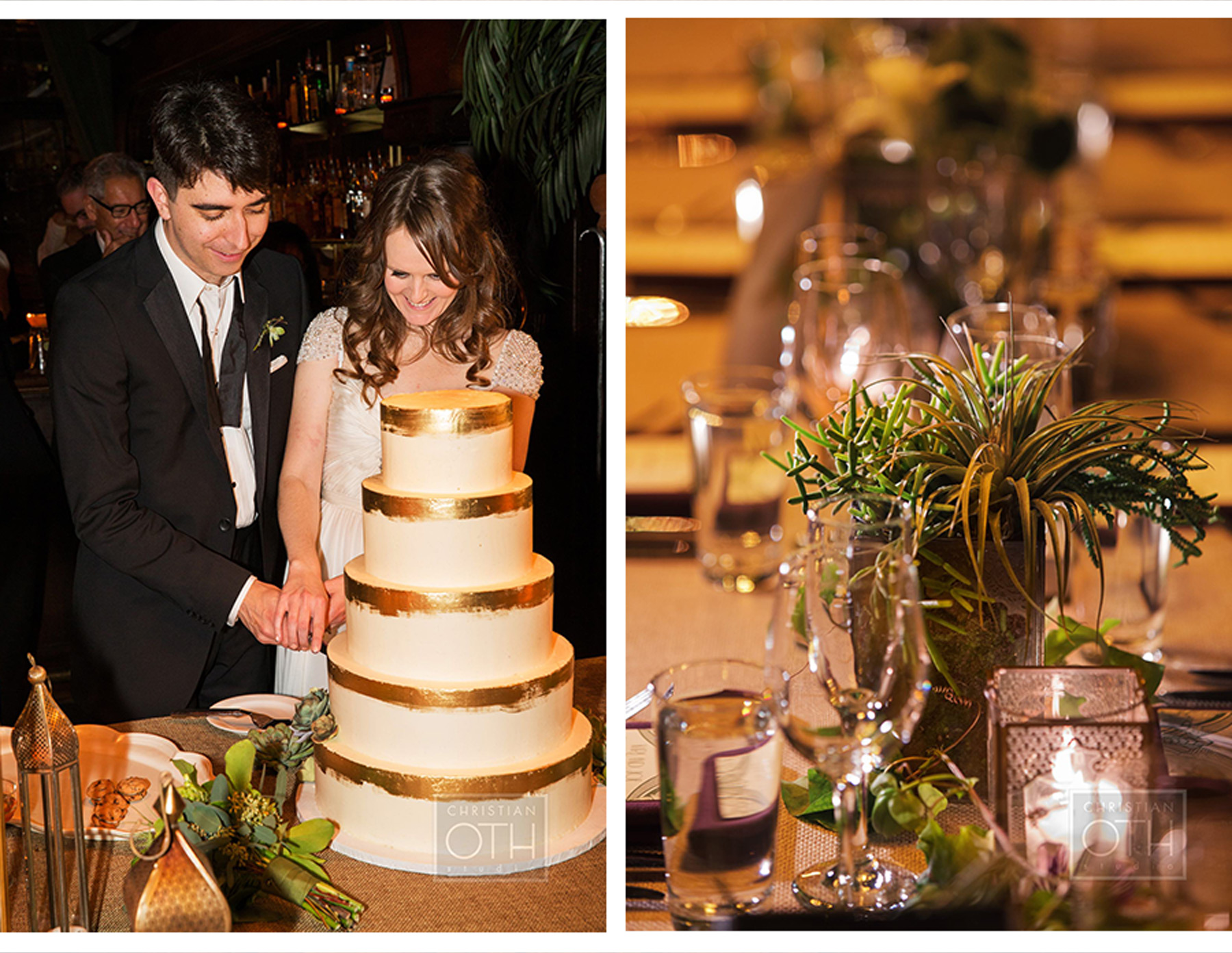 Our Muse - Modern Art Deco Wedding in New York: Kari and Joe, Part 4 - Be inspired by Kari and Joe's modern art deco wedding in New York. - reception, wedding, ceci new york, inspiration, ceci johnson, celebration, bride, groom, event, luxury wedding invitations,  couture, custom wedding invitations, ceci new york, christian oth photography, the bowery hotel, lyndsey hamilton events, belle fleur, nine cakes, lucy music, damali nyc, reem acra, jimmie choo, amsale, jenny packham