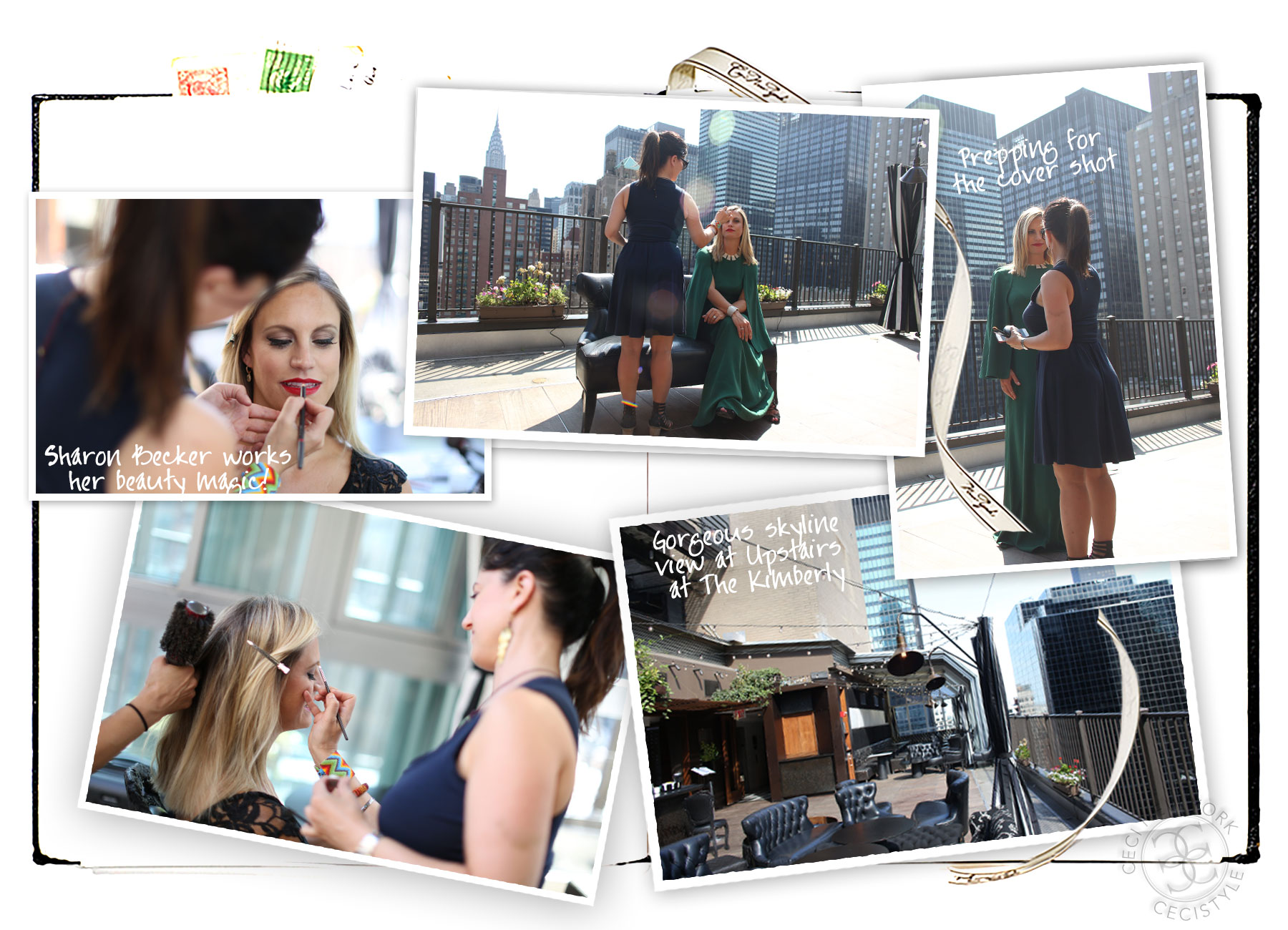 Behind the Scenes - CeciStyle Magazine v264 - Rooftop Romance