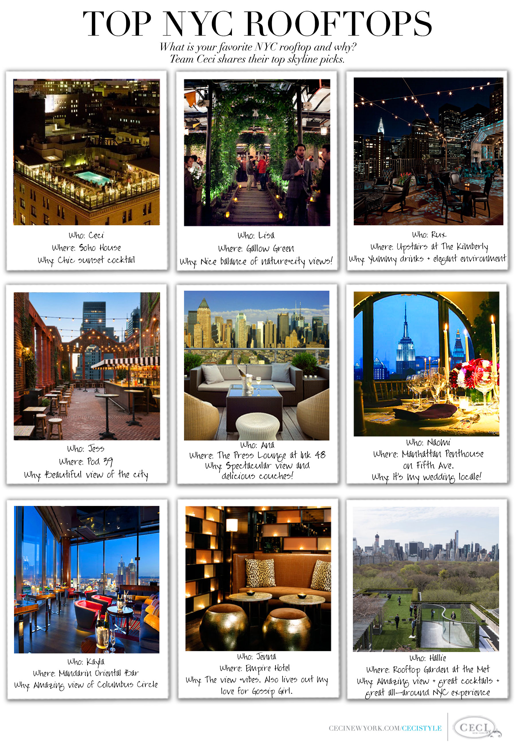 CeciStyle Magazine v264: Fabulous Finds Guest Editor - Here's to celebrating love in the big city!