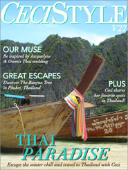 CeciStyle Magazine V27: Thai Paradise