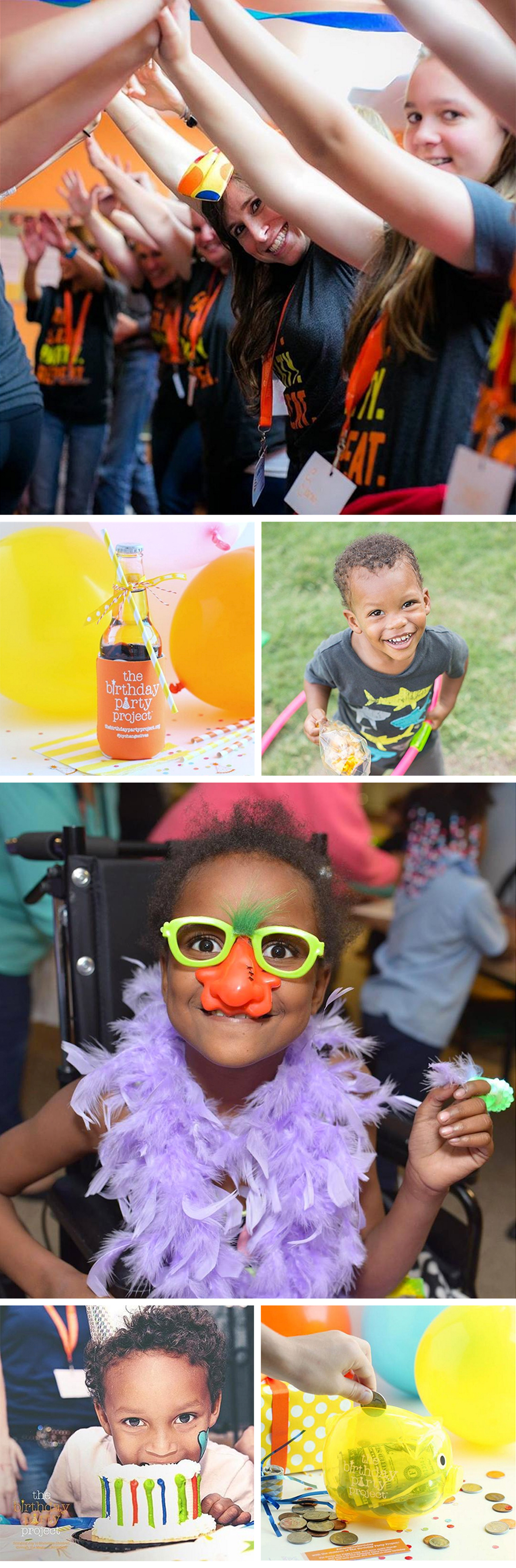 Our Muse - What The Birthday Party Project Is - Be inspired to give back to homeless children around the country with The Birthday Party Project - the birthday party project, charity, non-profit, giving back, kid's birthday party, philanthropy