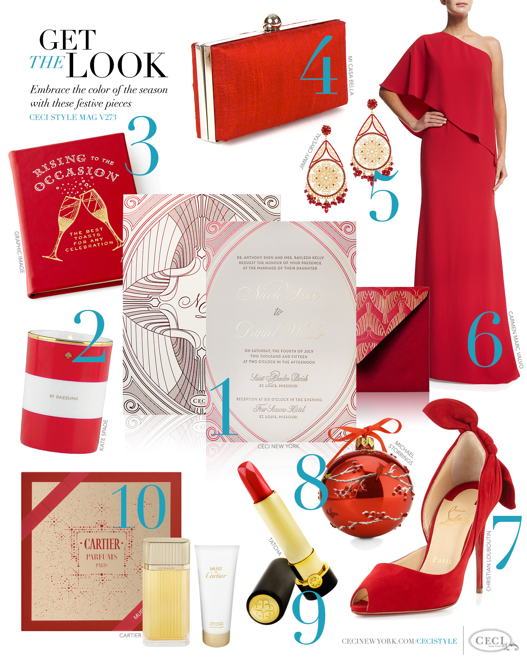 V273: Get the Look - The Red Issue — Ceci Style