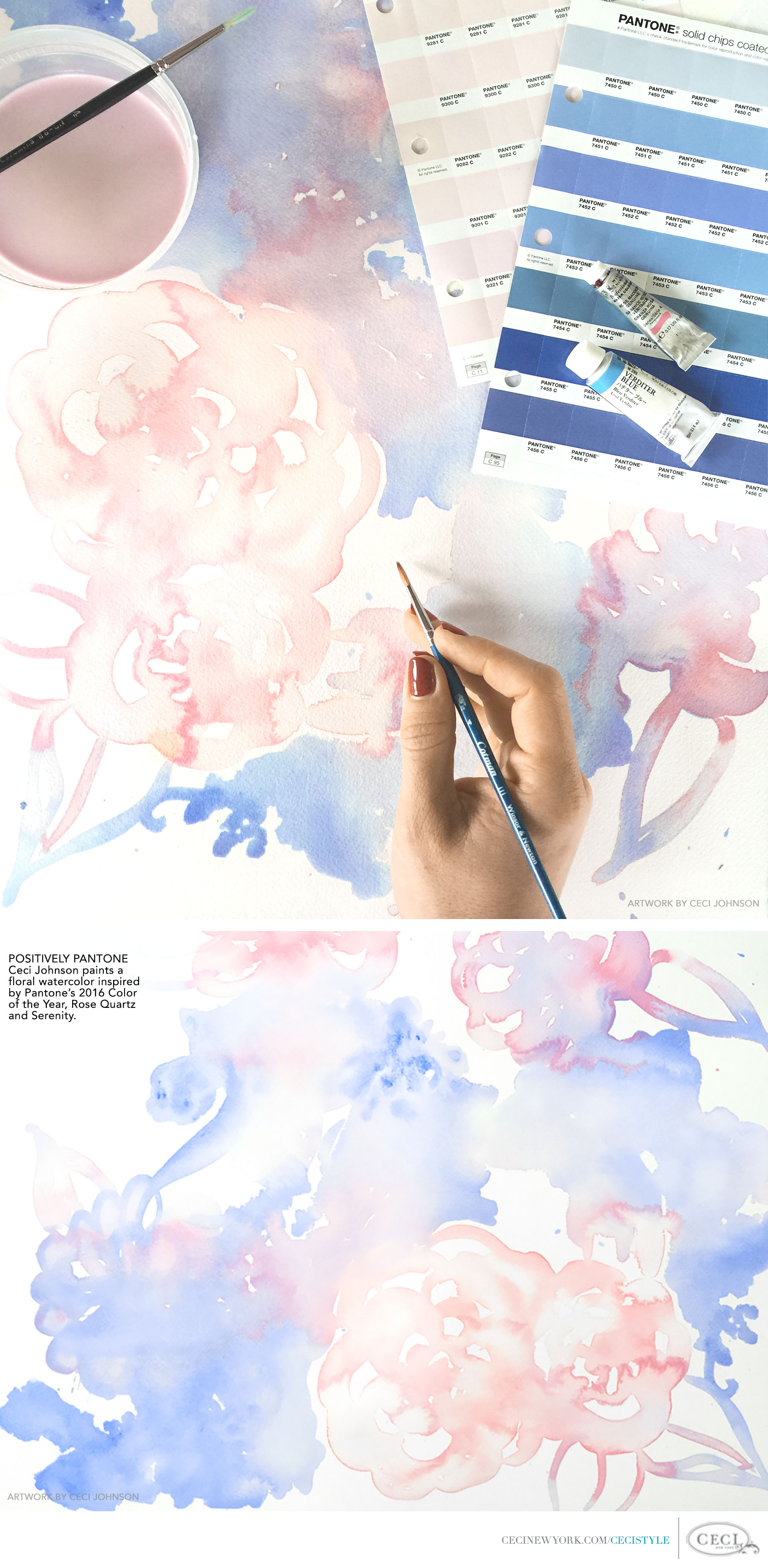 Ceci Johnson of Ceci New York - Positively Pantone