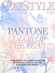 CeciStyle Magazine V281: Pantone Color of the Year