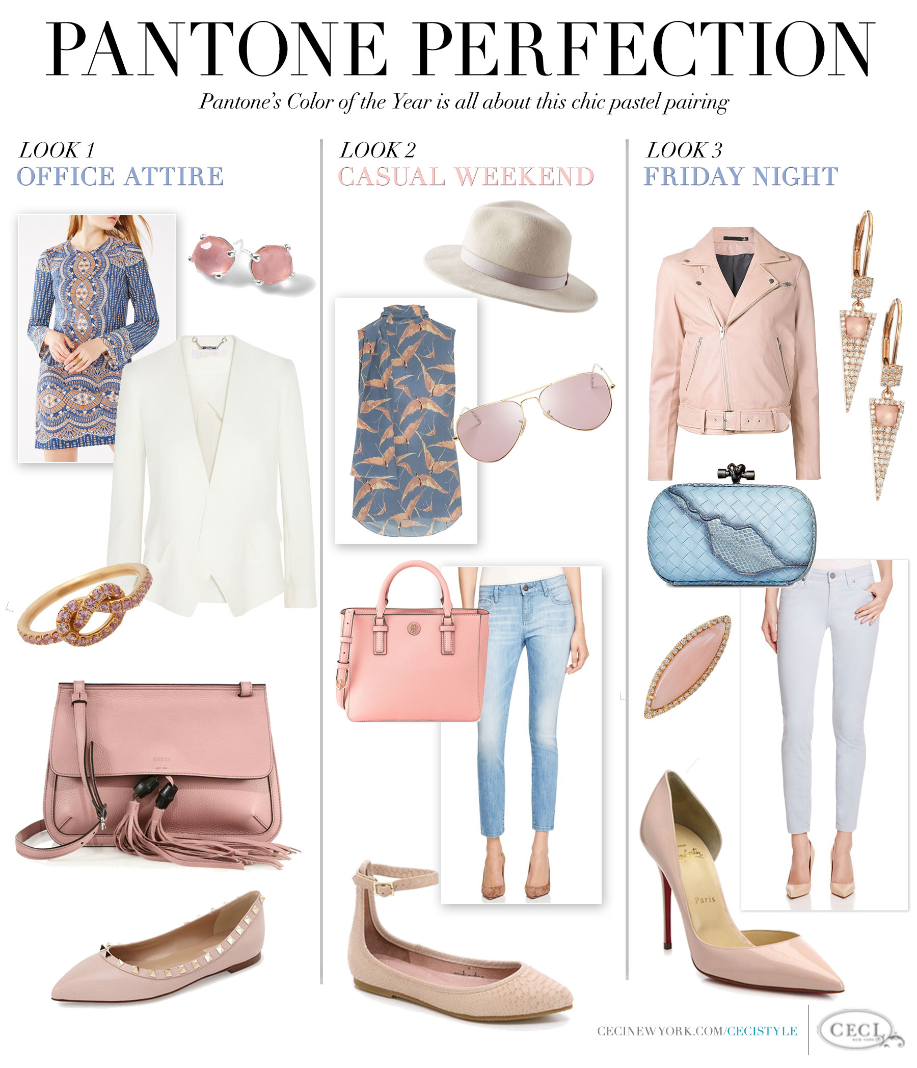 Pantone's Color of the Year is all about the chic pastel pairing