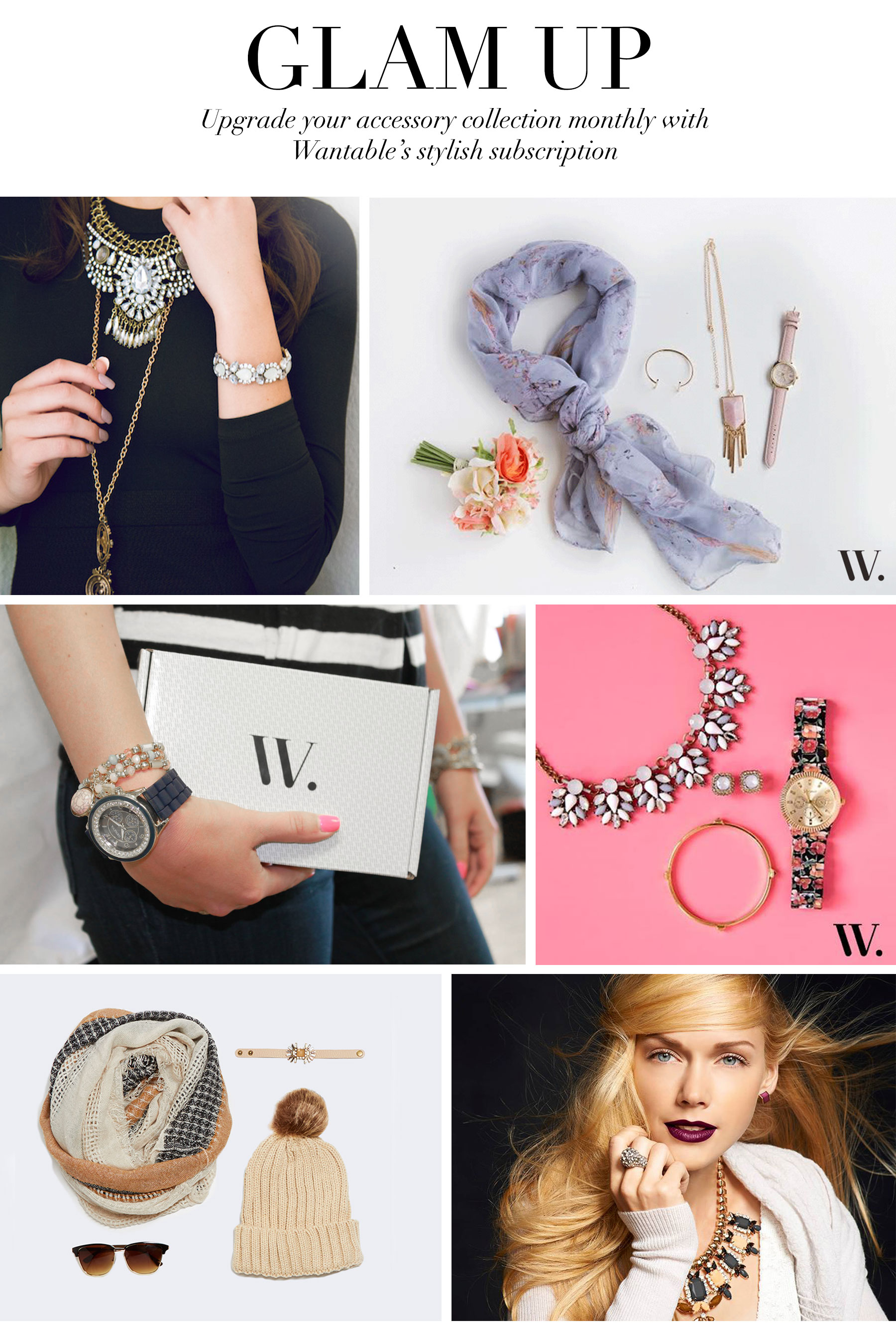 Ceci Johnson's Pampering Picks - Glam Up - Upgrade your accessory collection monthly with Wantable's stylish subscription