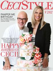 CeciStyle Magazine V282: Happy Birthday, Ceci!