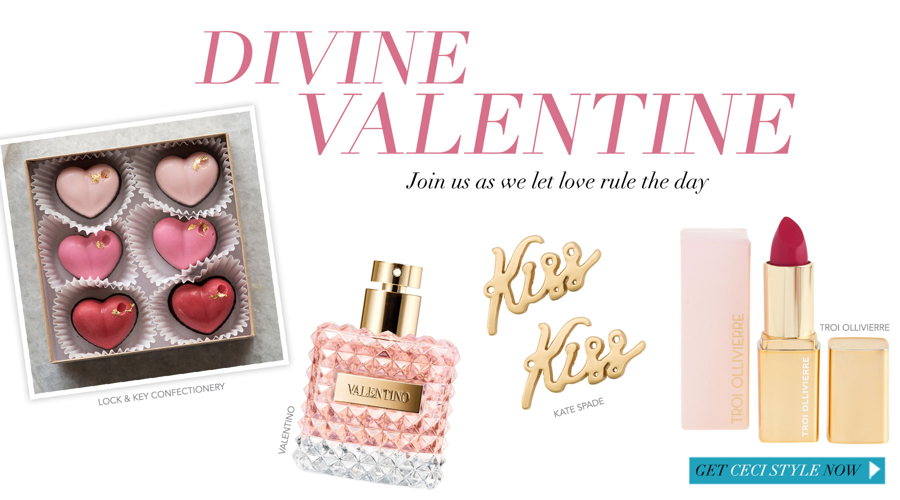 Divine Valentine - Join us as we let love rule the day
