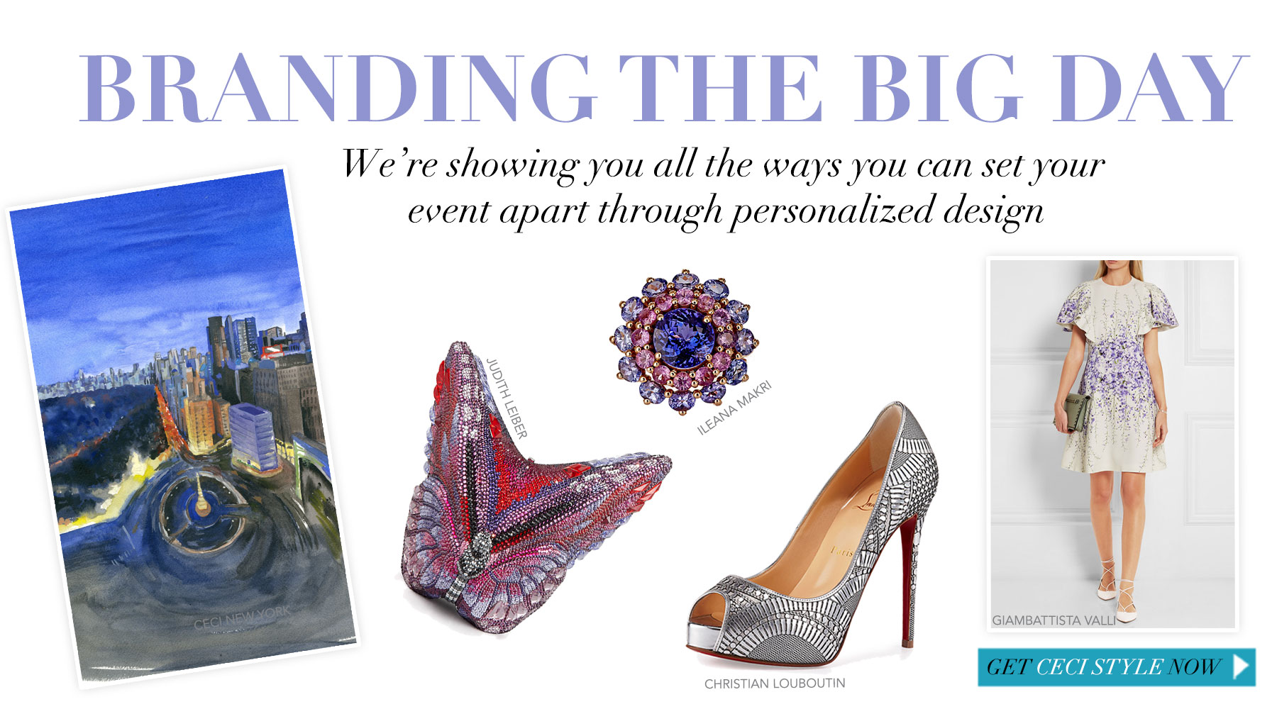 Branding The Big Day - We're showing you all the ways you can set your event apart through personalized design