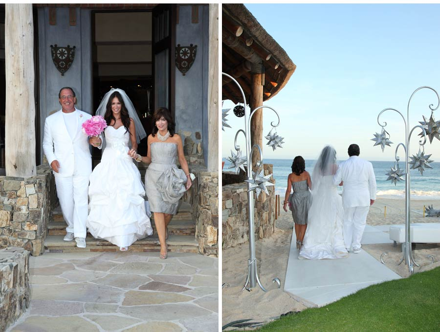 Our Muse - Wedding Photos - Be inspired by Ashley & Brian's summer Mexico wedding at El Dorado Golf & Beach Club, Los Cabos, Mexico