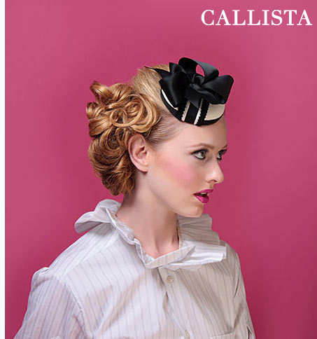 Kitty Andrews Millinery: Callista