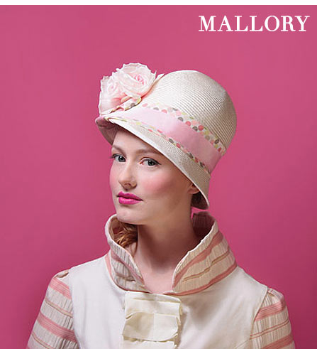 Kitty Andrews Millinery: Mallory
