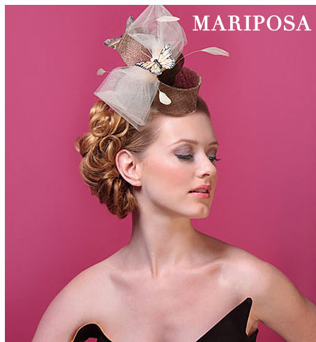 Kitty Andrews Millinery: Mariposa