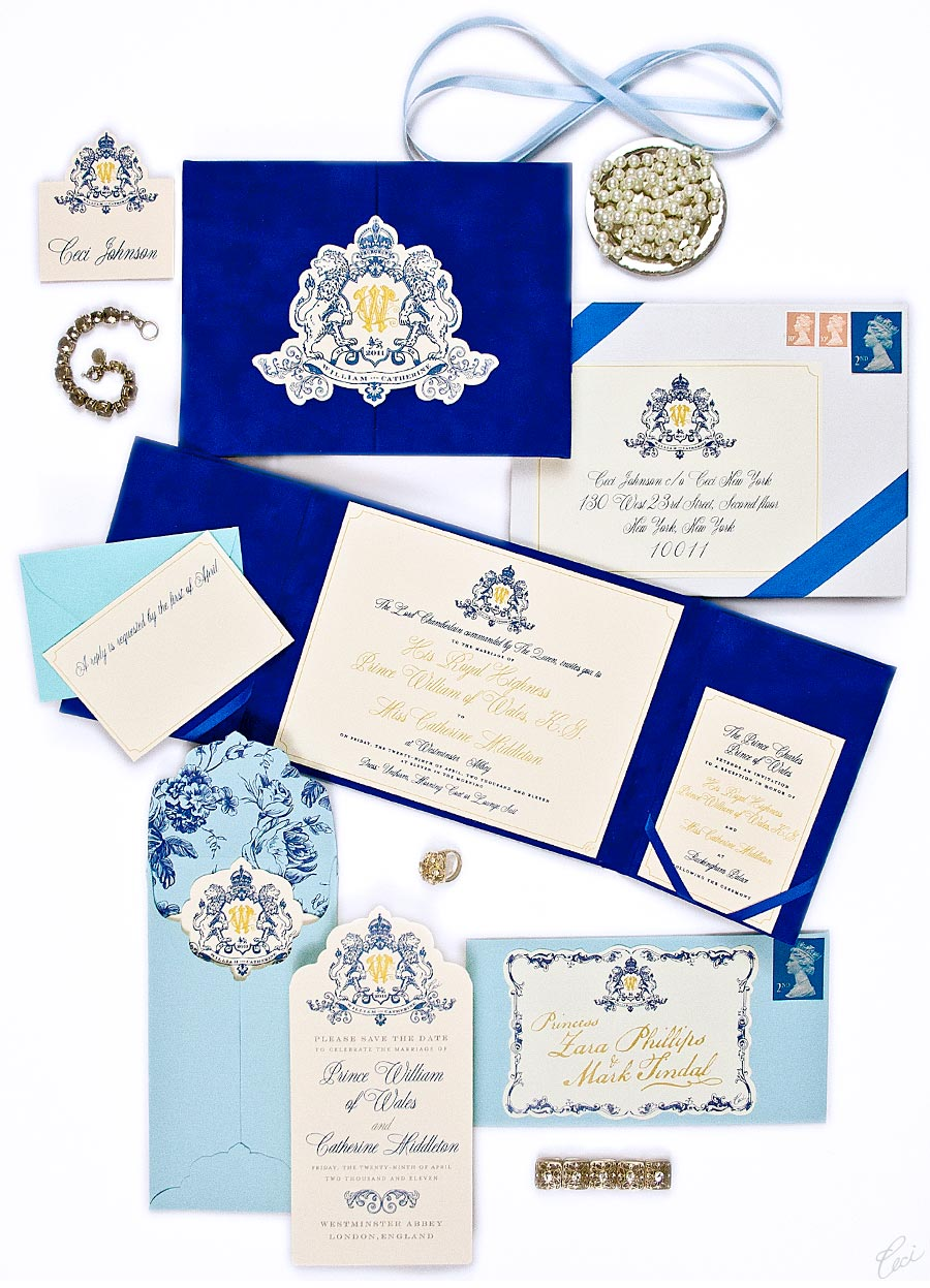 Ceci Creative Tips - How to Have a Royal Invitation: Catherine & William
