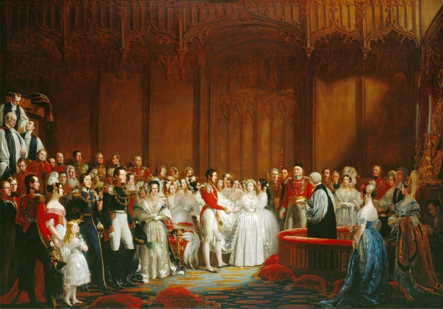 Our Muse - Ceci's Favorite Royal Weddings - 1840 - Queen Victoria to Prince Albert