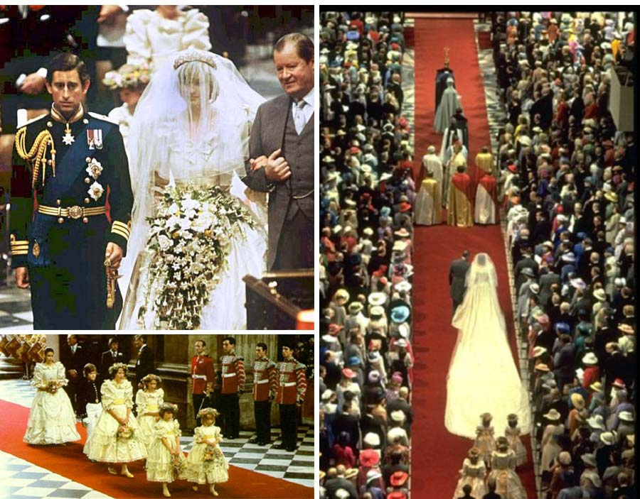 Our Muse - Ceci's Favorite Royal Weddings - 1981 – Prince Charles to Lady Diana