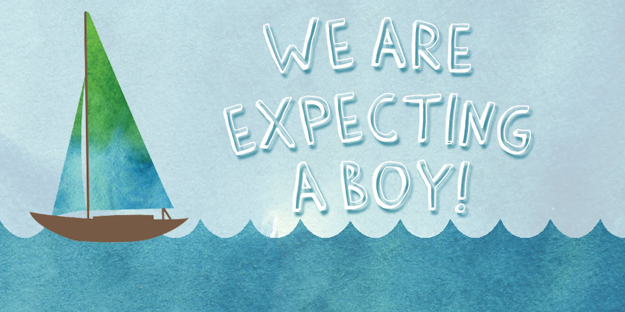 Ceci Diaries - We're expecting a boy!